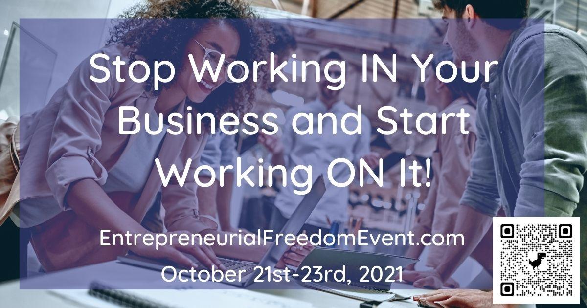 Entrepreneurial Freedom